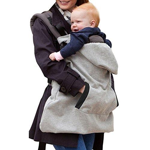 ZUMUii Butterme Hoodie Trägerabdeckung für Baby windundurchlässige Babydecke Warm Baby mit Kapuze Mantel Universal-All Season