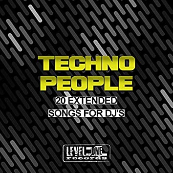 Techno People (20 Extended Songs For DJ's)