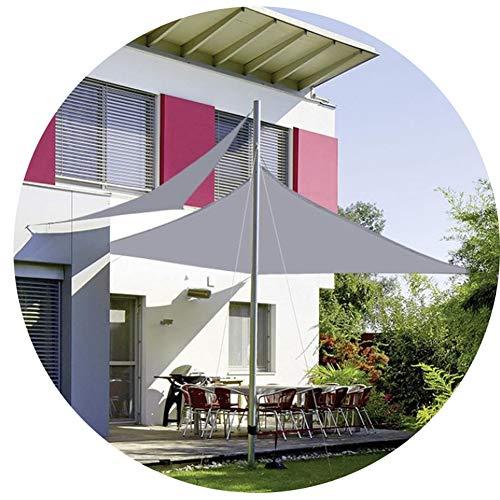 Nevy Waterdichte zonwering voor buiten, zonnezeil, grijs, tuin, binnenplaats, zwembad, schaduw, camping, schaduw 2x2.5m grijs
