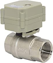 Two Way Staninless Steel 1 Inch,DN25 DC24V Motorized Ball Valve,with Position Indicator,CR702