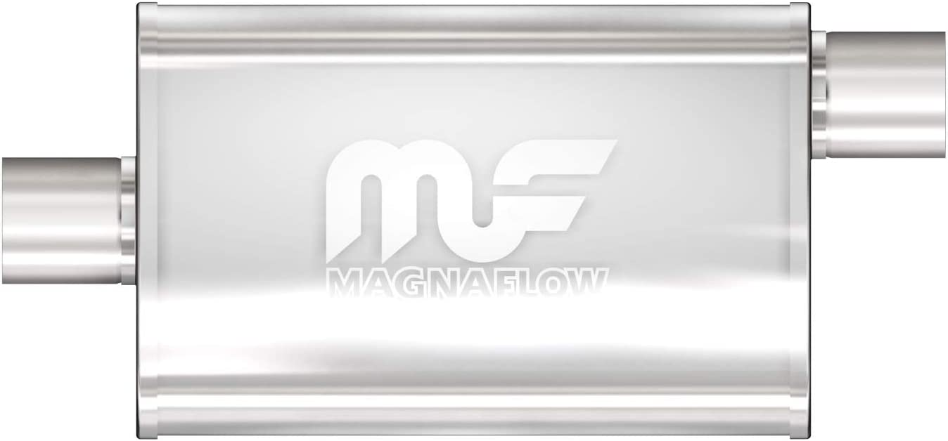 OFFicial site MagnaFlow 4in x 9in Oval Offset Straight-Through Daily bargain sale Performa Center