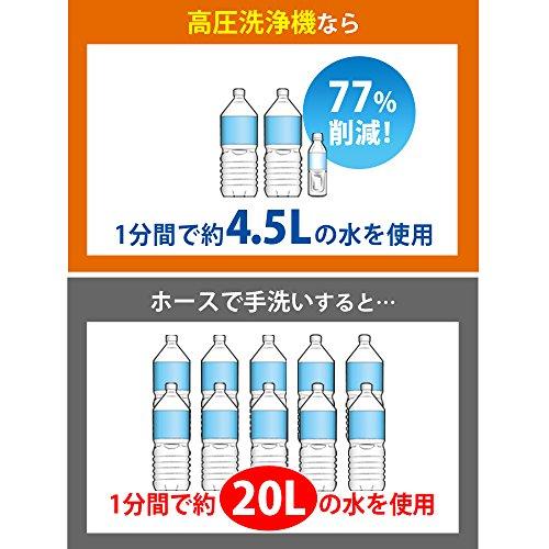IRISOHYAMA(アイリスオーヤマ)『高圧洗浄機FBN-601HG-D』