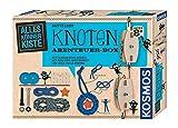 KOSMOS AllesKönnerKiste Knoten Abenteuer-Box. DIY-Bastelset für Jungen und Mädchen ab