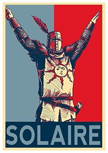 Instabuy Posters Dark Souls Propaganda Solaire - A3 (42x30 cm)
