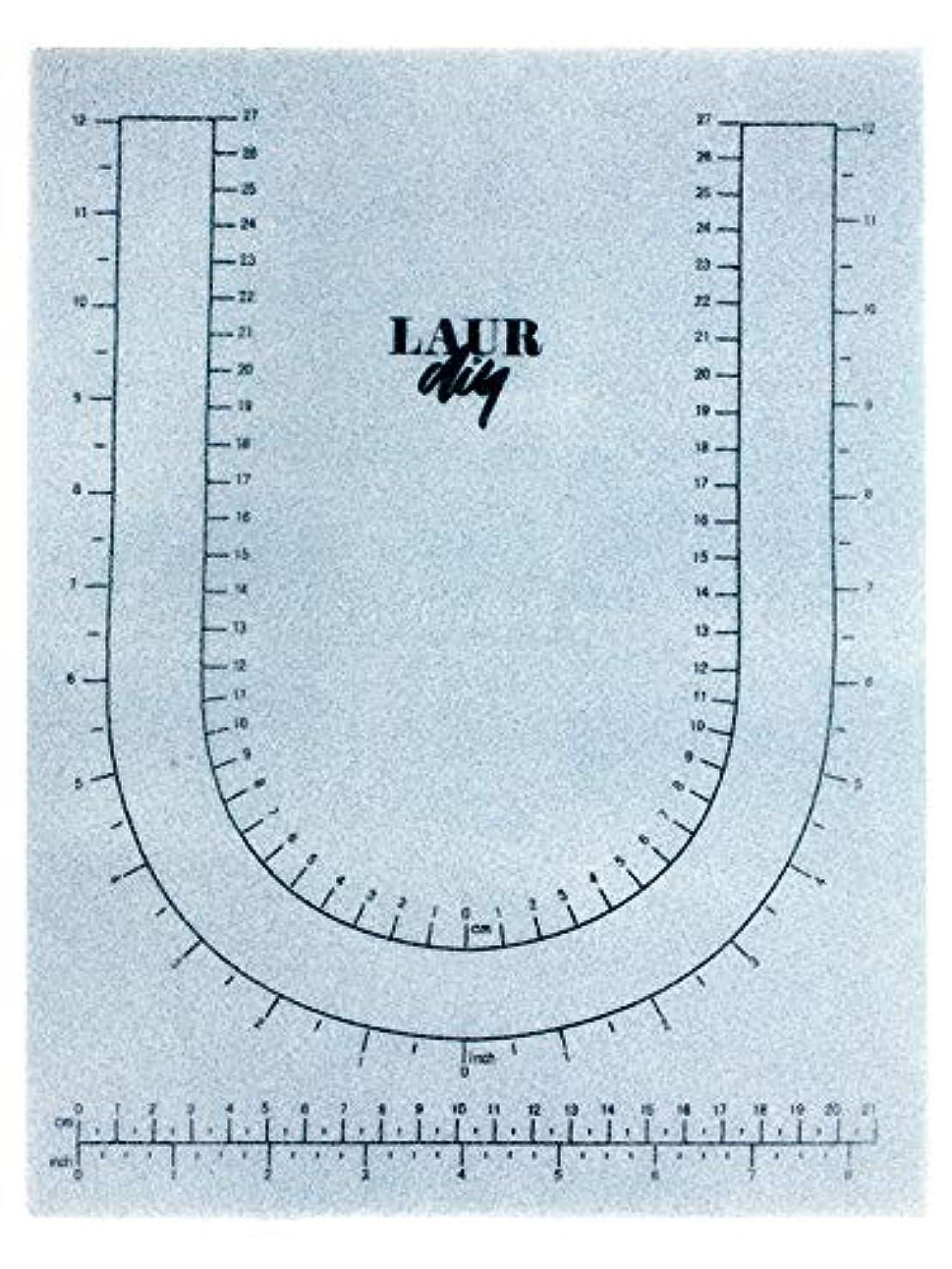 LaurDIY 37600043 Bead Mat BEADMAT, Blue