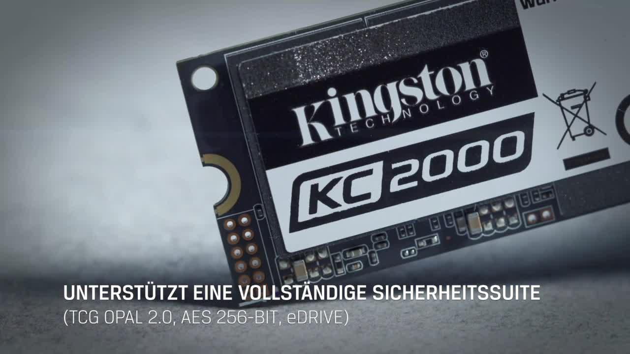 Kingston Kc2000 M 2 2280 Nvme Ssd 500g Computer Zubehör