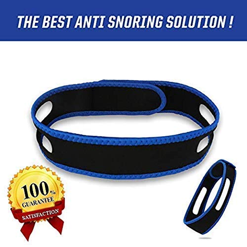 HJSNORE Anti Snoring Devices Chin Strap - Snoring Solution to Help...