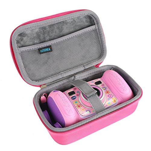 co2CREA Hard Travel Case for VTech Kidizoom Duo Selfie Camera (Pink)