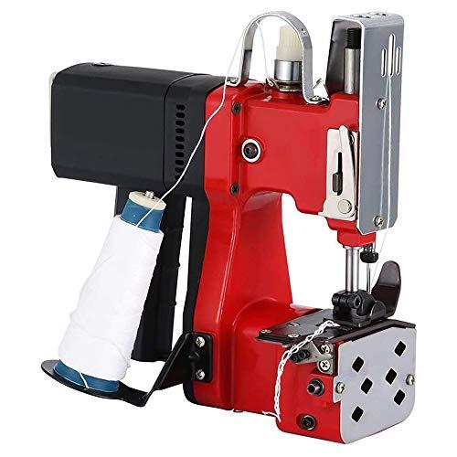 TTLIFE Máquina de cierre de bolsas, Máquina de coser portátil con diseño de secado automático, Máquina de cierre de bolsas para bolsas de piel de serpiente tejidas Bolsa de papel Bolsa de plástico