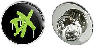 "GRAPHICS & MORE WWE D-Generation X DX Metal 0.75"" Lapel Hat Pin Tie Tack Pinback"
