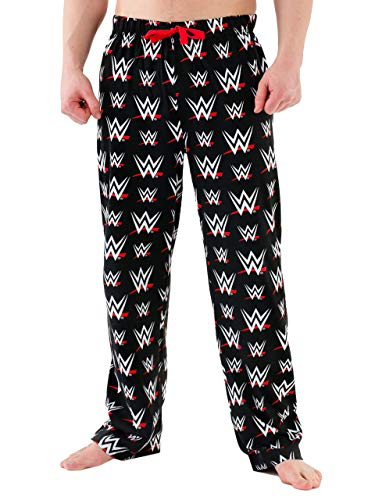 WWE Mens' World Wrestling Entertainment Lounge Pant Size Small
