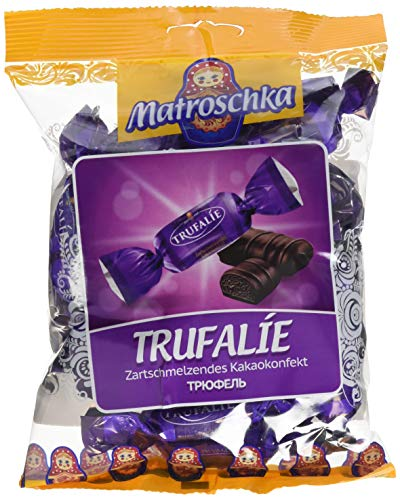 Matroschka Zartschmelzendes Kakaokonfekt Trufalie, 4er Pack (4 x 250 g)