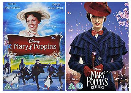 Mary Poppins 1-2 DVD Collection - Mary Poppins / Mary Poppins Returns