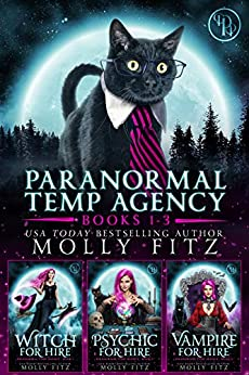 Paranormal Temp Agency Books 1-3 Special Collection (Whiskered Mysteries Book 2) by [Molly Fitz]