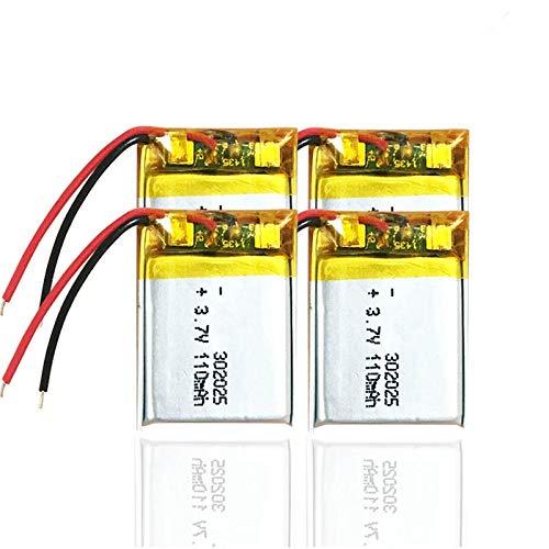 110mAh 3.7V 302025 batería de polímero de Litio para GPS PSP MP3...