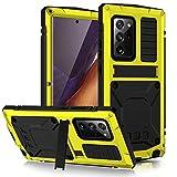qichenlu - Carcasa protectora para Samsung Galaxy Note 20 Ultra 5G (resistente a los golpes, con función atril, resistente al agua)