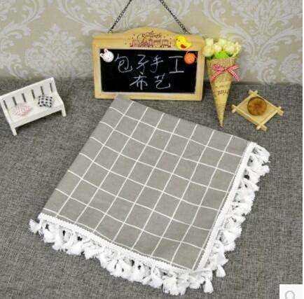 Memphis Mall Ranking TOP7 Table Cloths Cotton Linen Beige T Plaid Black Tablecloth Pattern