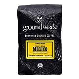 Groundwork Organic Single Origin Whole Bean Light Roast coffee, Mexico, 12 oz Bag