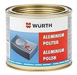 Abrillantador de aluminio – 500 ml – para saneamiento de suciedad persistente como óxido de metal, óxido, floración y otros depósitos.
