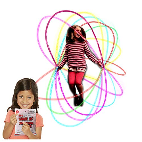YongnKids Springseil – Farbige LEDs leuchten für Kinder, Mädchen, Springen für Tanzübungen