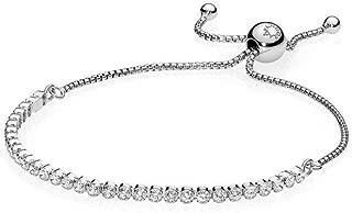 Best pandora 9 bracelet sparkling strand sterling silver Reviews