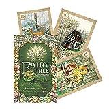 38 unids Hadas Tale Lenormand Tarot Tarjetas Familia Fiesta de Vacaciones Tarjetas Tarot English Tarot Deck Board Games Set Libro ELECTRONICO para niños (Color : Multi)
