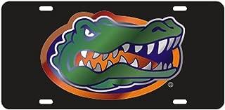 Craftique Florida Gators Black Gator Logo Laser Cut License Plate - Gator Logo