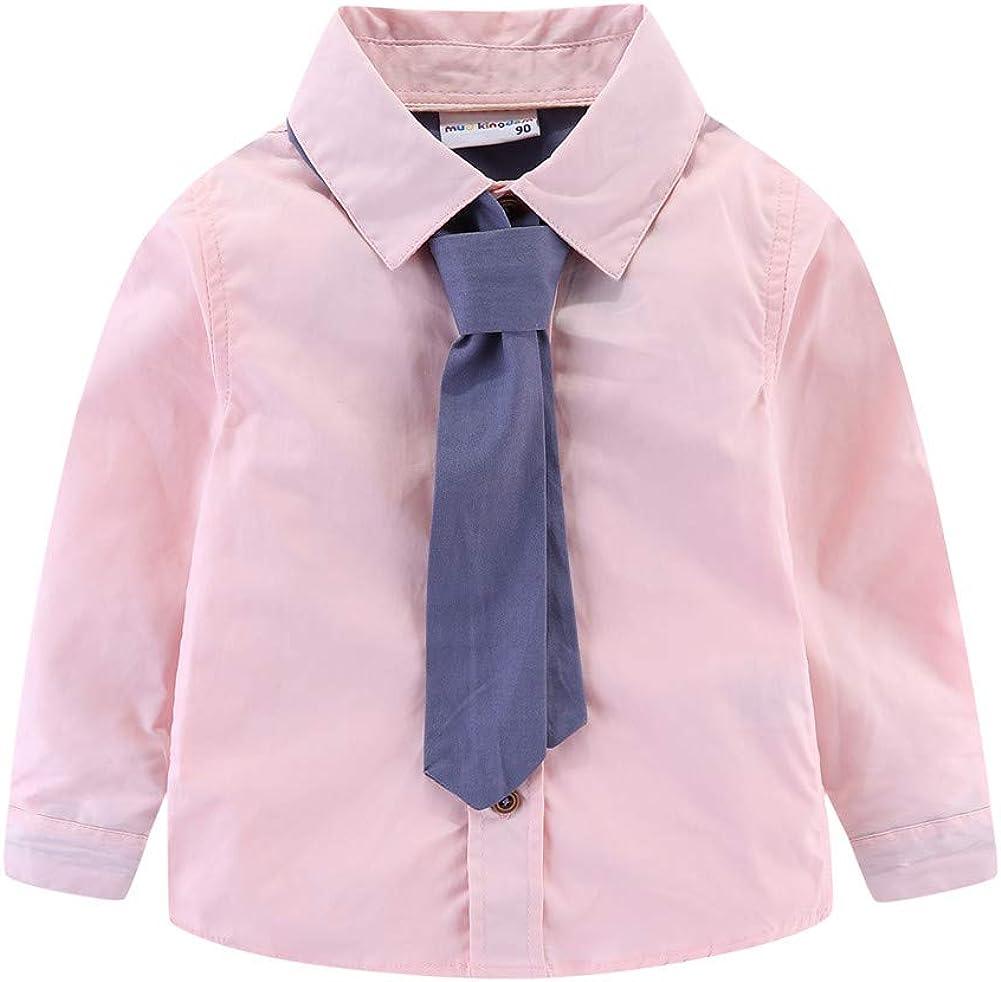 Mud Kingdom Little Boy Dress Shirt Long Sleeve Cute