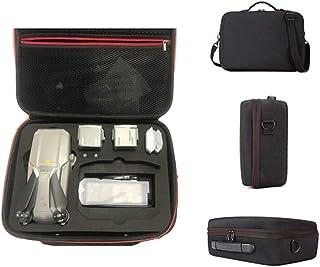 Szkn Bolsa de almacenamiento para el hombro, bolso Fly More Combo cargador de batería accesorios para Mavic Air 2 Case Bag DJI Air 2 Drone, piel sintética nailon, Poliuretano., talla única