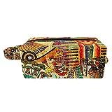 Bolsa de cosméticos para Mujeres Vintage EgyptArt Faraón Bolsas de Maquillaje espaciosas Neceser de Viaje Organizador de Accesorios