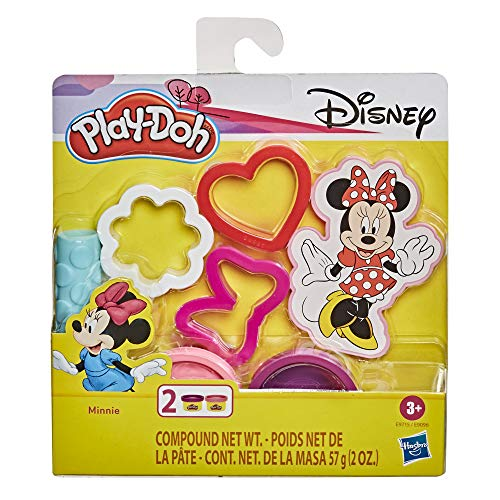 Play-Doh Disney Minnie Mouse 5-Piece Toolset for Kids 3 Years and Up with 2 Non-Toxic Colors