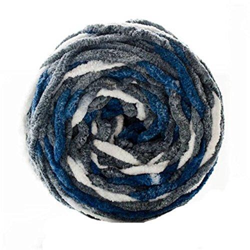Celine lin One Skein Natural Baby Blanket Big Warm Ball Yarn Knitting Yarn,Multi-colored27