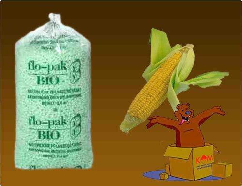 """1 Sack Flo-Pak """"BIO"""" Verpackungs-Chips 0,4 m³ / 400 Liter thumbnail"""