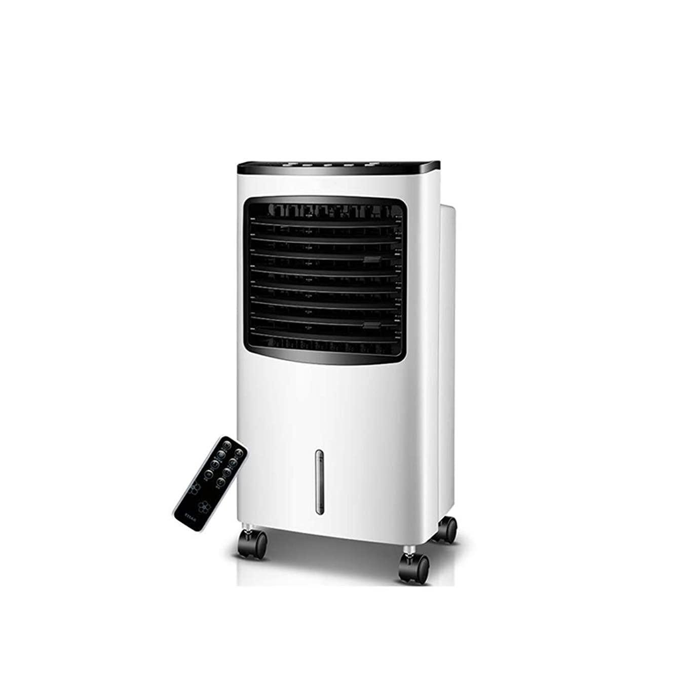 Portable Evaporative Air Conditioner Tower Cold Air Cooler Fan Mobile Air Conditioning Remote Control Timing Low Noise Refrigeration Humidification