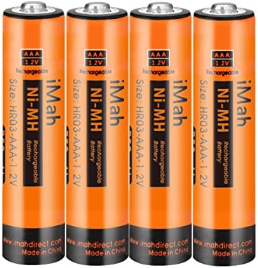 iMah AAA Rechargeable Batteries 1.2V 750