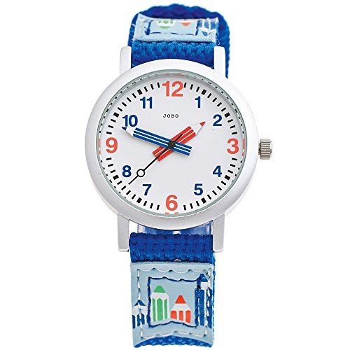 JOBO Kinderuhr j042010–Edelstahl-Armband