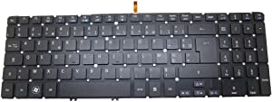Laptop Keyboard for ACER Aspire M3-581G M3-581PT M3-581PTG M3-581T M3-581TG M5-581G M5-581TG V5-551 V5-551G V5-571 V5-531 TravelMate P276-M P276-MG with Backlit France FR NO Frame
