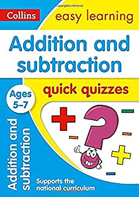 Addition & Subtraction Quick Quizzes Ages 5-7 (Collins Easy Learning KS1) by Collins