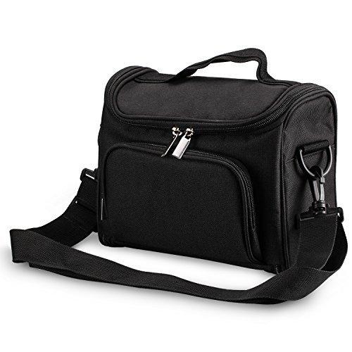 Beamer Tasche, passende Tasche für 4 Zoll Mini Beamer, Polyesterfasern, 23.01cm*18.79cm*11.15cm, tragbare Beamertasche, DR.Q