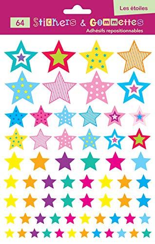 Gommettes étoile