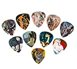 Picasso Art Guitar Picks (10 Beautiful Picks in a packet)