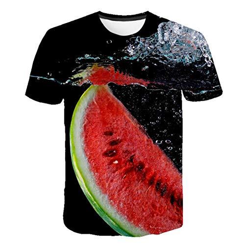 3D Round Neck Rainbow XXL RCFRGV 3DT-Shirt Mens Eu//Us Size Slim T-Shirt