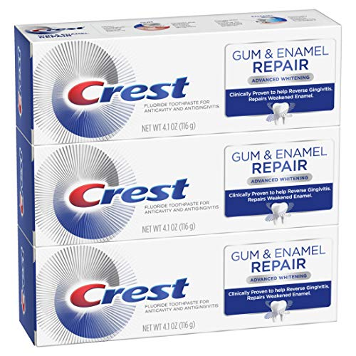 Crest Gum & Enamel Repair Advanced Whitening Toothpaste 3-Pack Now $11.80