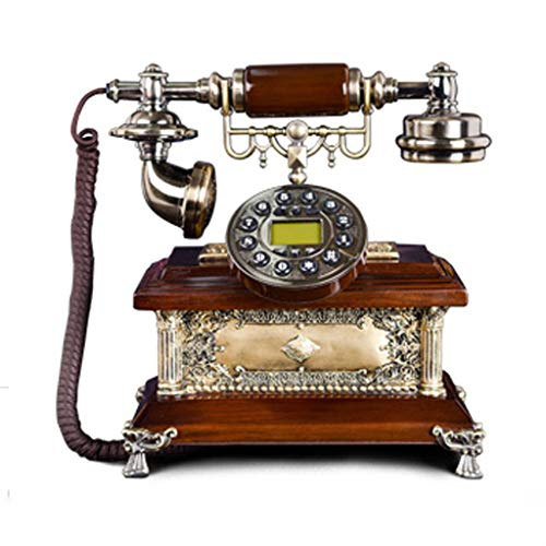 Téléphone fixe GAOLILI Antique Haut de Gamme Maison de Retro Filaire