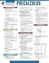 Precalculus - REA's Quick Access Reference Chart (Quick Access Reference Charts)