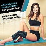 Vigo Sports Rodilleras antideslizantes para deportes y fitness - Rodilleras transpirables para el dolor de meniscos y articulaciones - Rodilleras para voleibol, correr y hacer footing