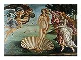 Puzzle El Nacimiento de Venus-Sandro Botticelli-Jigsaw 300/500/1000 Piezas for Adultos Adolescentes Juguete de Madera decoración del hogar (Size : 300pcs )