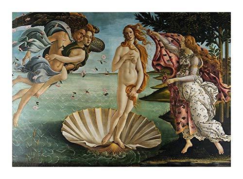 Puzzle El Nacimiento de Venus Sandro Botticelli Jigsaw 300/500/1000 Piezas for Adultos Adolescentes Juguete de Madera decoración del hogar (Size : 1000pcs )