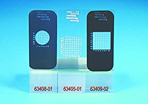 Gridded Microscope Slides Uncoated  144 PK...