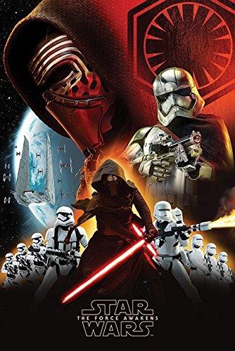 Star Wars Poster Maxi La Force réveille – Première Commande, Multicolore